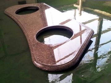 мраморная раковина для ванной