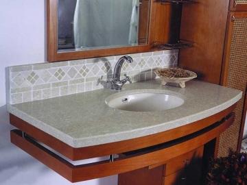 мраморная мойка для ванной