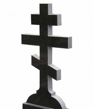 крест на надгробный памятник из камня