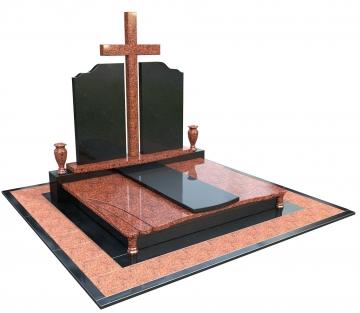 двойной надгробный каменный памятник