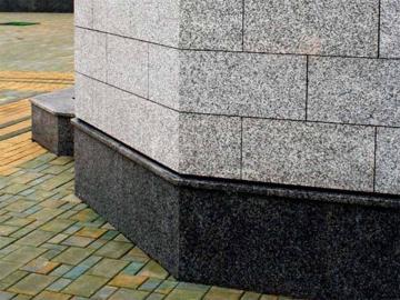 гранитный фасад для облицовки