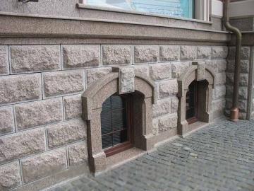фасад из натурального камня для строительства