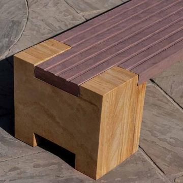 гранитная скамейка