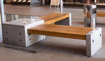 скамейка из гранита