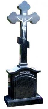 крест на памятник из гранита для кладбищ