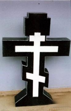 крест на  элитный памятник из гранита на могилу
