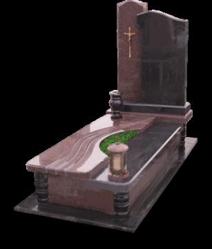 одинарный  элитный гранитный памятник на могилу
