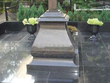 крест на гранитный памятник на могилу
