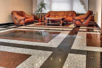 Плитка підлоги Камінь в інтер'єрі