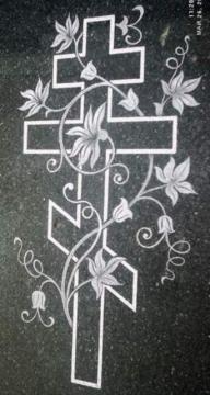 портретная работа на надгробный каменный памятник на могилу