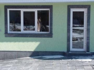 гранитный фасад