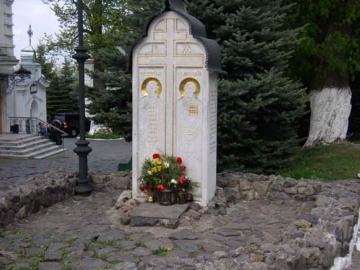 двойной  элитный гранитный памятник