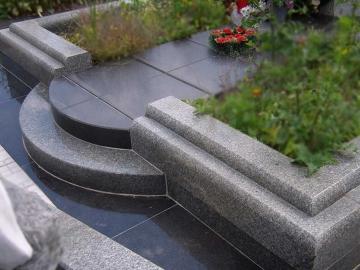 основа из гранита для могилы