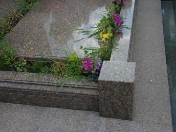 гранитная плита на могилу