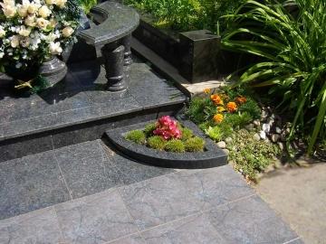 гранитная плитка для могилы