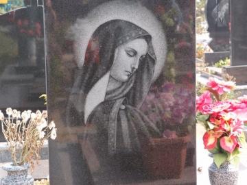 рисунок на надгробный каменный памятник на могилу