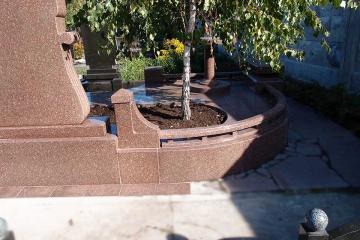 гранитные изделия для кладбища