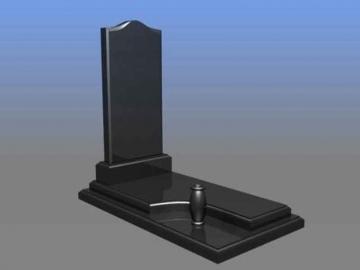 одиночный  элитный памятник из камня