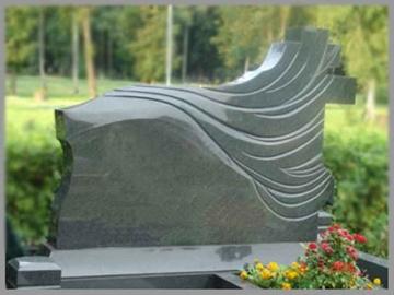 одинарный  элитный памятник из гранита для кладбищ