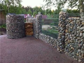 гранитный забор для ограды