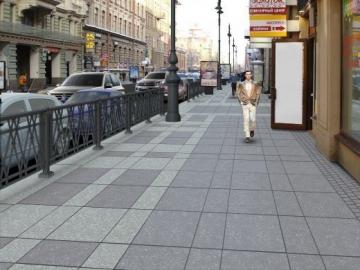Тротуари Архітектурні деталі