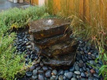 ландшафт из натурального камня для отделки